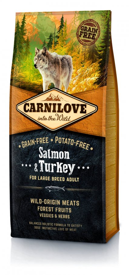 Carnilove large breed salomon and Turkey
